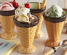 О пользе мороженого