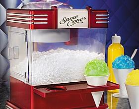 Сone machine – машина конус снега