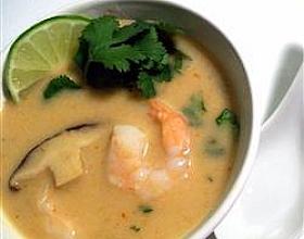 Тайский суп с кокосовым молоком
