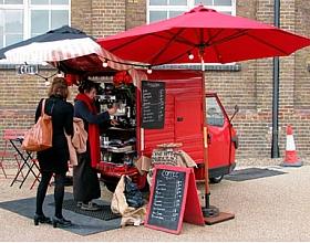 Как открыть мобильную кофейню