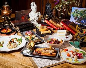 Эногастрономический ужин «Русский вкус» в ресторане «Матрёшка»