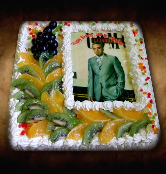 Торт с фотопечатью своими руками 784