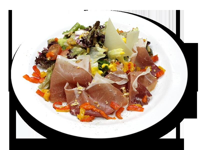 Грибной салат с ветчиной рецепт  европейская кухня