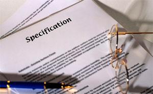 Правила составления спецификации