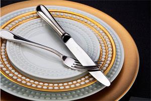 Фарфоровая посуда для ресторана