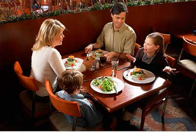 Обслуживание в ресторане по-английски