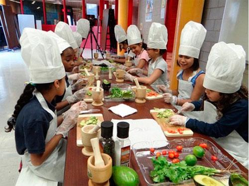 Кулинарные курсы для детей