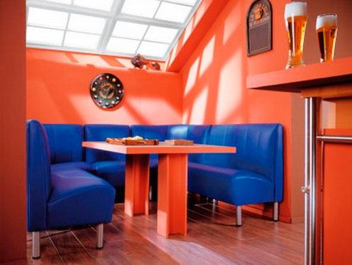 Выбор дивана в бар или кафе