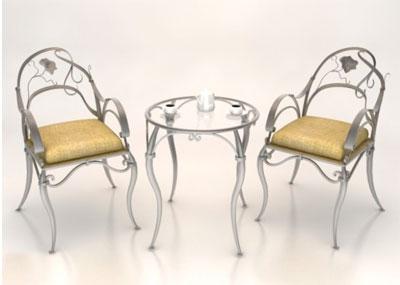 Металлическая мебель для заведений общественного питания на заказ