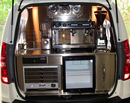 Оборудование для мобильной кофейни