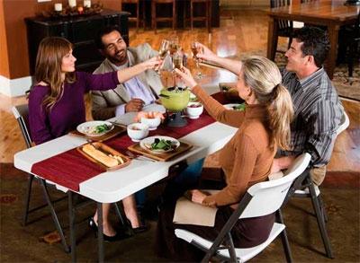 Складная мебель для мест общественного питания