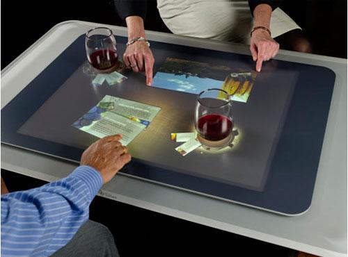 Что такое сенсорный стол