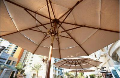 Зонты для летней веранды