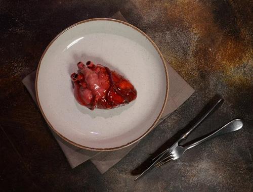 уникальный десерт — сердце